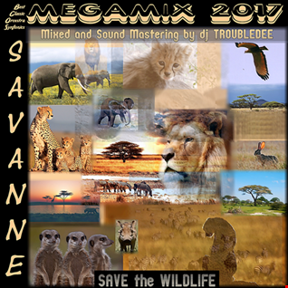 Savanne  SAVE the WILDLIFE Megamix 2017 (djTroubleDee Special Best Classic Orchestra Synphonix Sound)