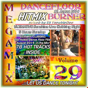DANCEFLOOR BURNER VOL 29 the Ultimate Sunshine Live Clubbing Night MEGA HITMIX 12.08.2014
