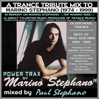 A 2016 Trance Tribute Mix to Marino Stephano mixed by Paul Stephano mastered by DJ TroubleDee