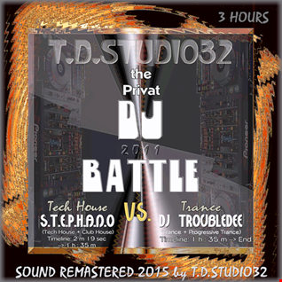 the Internal DJ Battle   S.T.E.P.H.A.N.O(Tech House Club House) vs DJ TroubleDee(Trance & Progressive Uplifting Trance)