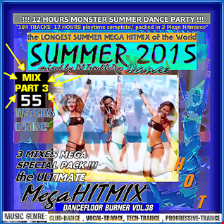 DANCEFLOOR BURNER VOL 38 Summer of 2015 the Ultimate Mega Hitmix (MIX PART 3 von 3  MIXES)