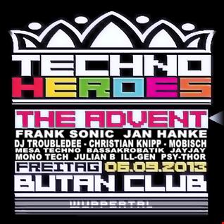 Techno Heroes vs.  theAdvent  6 Sept 2013 Live Mix