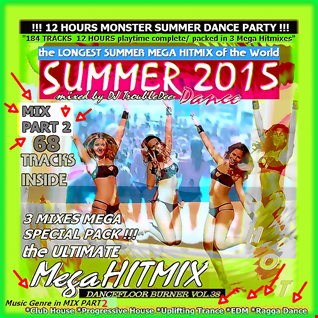 **DANCEFLOOR BURNER VOL 38** (( MIX PART 2 )) the >3 in 1< WORLD GREATEST Hotest and Ultimative SUMMER-DANCE-MEGA-HITMIX 2015*