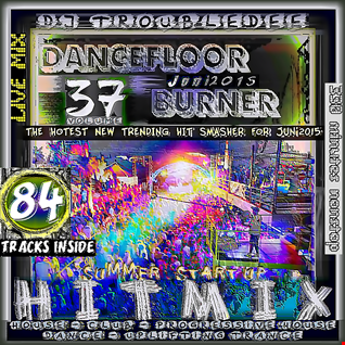 DANCEFLOOR BURNER VOL 37  the Mega Hitmix  Jun2015