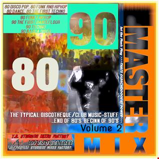 Back to DISCO 80s - 90s STUDIO 32 digital remastert MASTERMIX vol 2 mixed by DJ TroubleDee