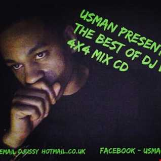 Usman Present's The Best Of DJ Veteran 4x4 Mix CD