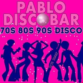 Pablo Discobar with Seth Sharp. 70s 80s 90s Disco. December 2019. Reykjavik, Iceland.
