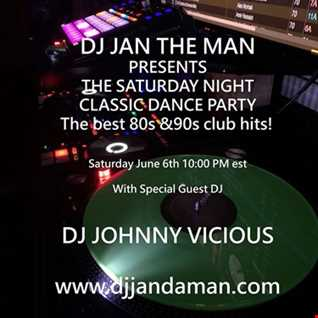 Saturday Night Classic Dance Party 6 6 20