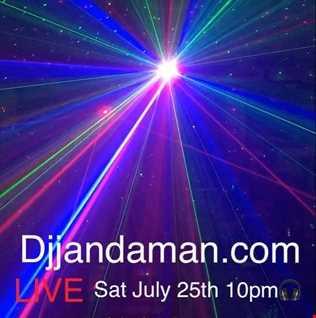 Saturday Night Classic Dance Party 7/25 DJ Jan The Man