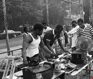 Funk Soul New York Block Oldschool Party