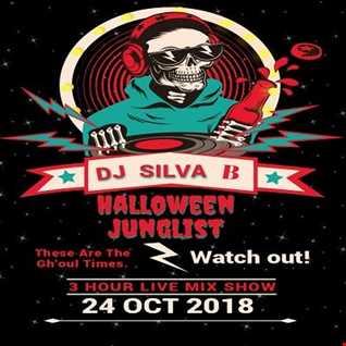 DJ SILVA B   HALLOWEEN JUNGLIST 24 10 2018