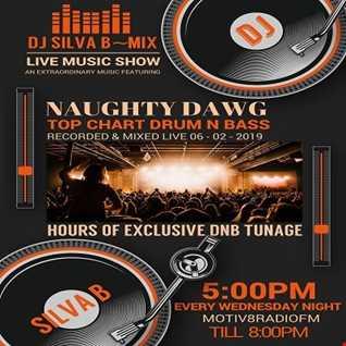 DJ SILVA B   NAUGHTY DAWG LIVE DNB MIX SHOW MOTIV8RADIOFM 06 02 2019