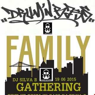 DJ SILVA B   FAMILY GATHERING JUMP UP DNB MIX 19 06 2015