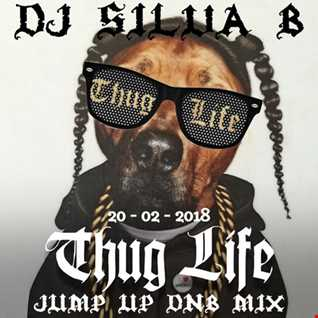 DJ SILVA B   THUGLIFE JUMP UP DNB MIX 20 02 2018.