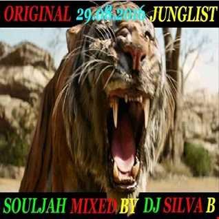 ORIGINAL JUNGLIST SOULJAH   DJ SILVA B 29 08 2016