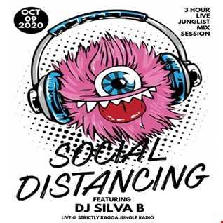 DJ SILVA B   SOCIAL DISTANCING JUNGLE MIX LIVE SRJR 09 10 2020