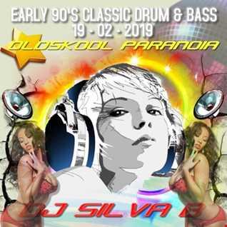 DJ SILVA B   OLDSKOOL PARANOIA (EARLY 90'S CLASSIC DNB MIX) 19 02 2019