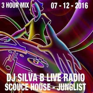 DJ SILVA B   SCOUCE HOUSE JUNGLIST 3 HOUR LIVE RADIO 07 12 2016