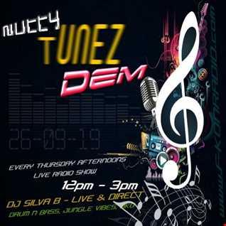 NUTTY TUNEZ DEM THURSDAY AFTERNOON 12PM 3PM F KON RADIO MIX DJ SILVA B 26 09 2019