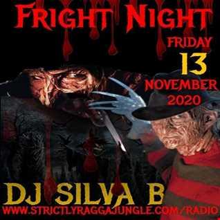 FRIGHT NIGHT FRIDAY 13TH NOVEMBER 2020   DJ SILVA B DNB MIX