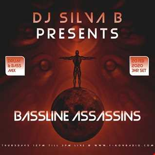 BASSLINE ASSASSINS DRUM AND BASS LIVE MIX F KONRADIO   DJ SILVA B 20 02 2020