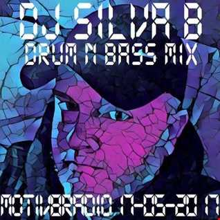 DJ SILVA B   DRUM N BASS MIX MOTIV8RADIO 17 05 2017