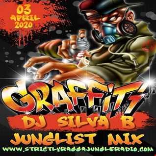 GRAFFITI    DJ SILVA B LIVE STRICTLY RAGGA JUNGLE RADIO 03 04 2020