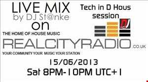 DJ St@nke mix800 Live mix @ Realcityradio