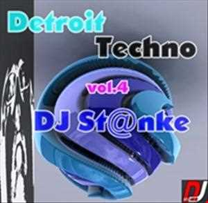 DJ St@nke mix787 DETROIT TECHNO vol.4