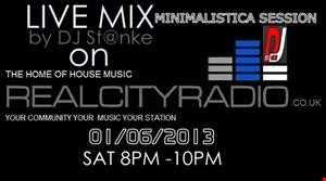 DJ St@nke mix798 Live mix @ Realcityradio