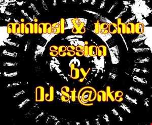 DJ St@nke mix811  MINIMAL & TECHNO