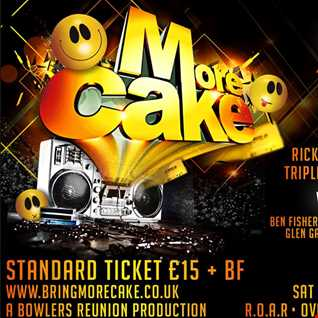 Dj's Woody And Kenny Deans Back2Back@More Cake 4 10 14