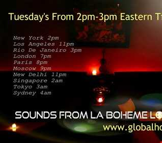 Sounds from la boheme lounge 8 7 2018