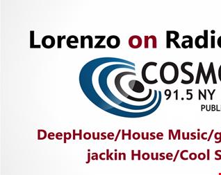 Radio Cosmos - Lorenzo Live Session - Duration 2h11