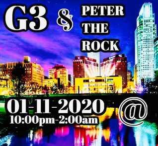 DJ G3 & Peter The Rock - Live @ 415 20200111