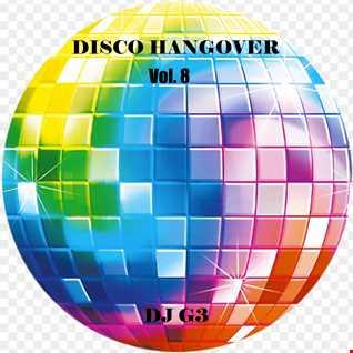 DJ G3 - Disco Hangover Vol. 8  (Oct 2021)