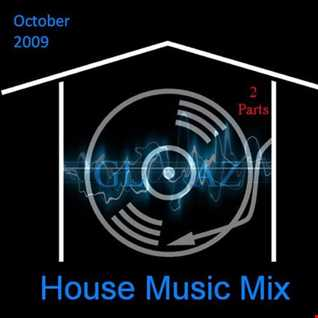 House Music Mix October 2009 (Part 1)