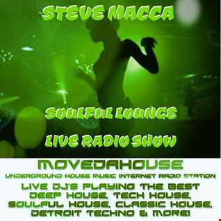 STEVE MACCA'S SOULFUL LOUNGE SHOW 31ST MARCH