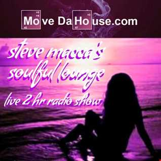 STEVE MACCA'S SOULFUL LOUNGE SHOW SEPTEMBER 9TH