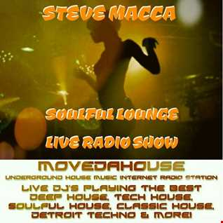 STEVE MACCA'S SOULFUL LOUNGE LIVE SHOW