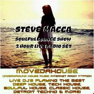 STEVE MACCA'S SOULFUL LOUNGE SHOW 3RD FEB 2017
