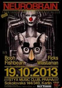 BooH Live@Styx smart club Prague 20.10.13 Heavy Neurofunk Mix