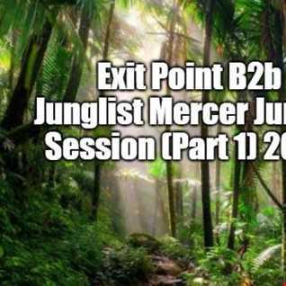 Exit Point B2b Junglist Mercer 1994,95 Jungle Studio Session (Pt 1) 2012