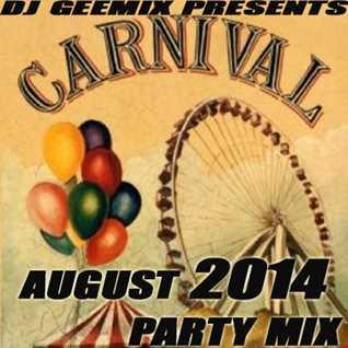 august 2014   carnival mix  geemix