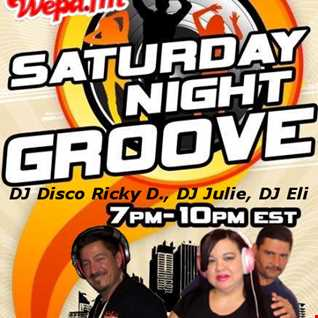DJ Ricky, DJ Julie and DJ Eli Saturday Night Groove on Wepa.fm 1-24-15