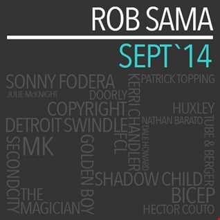 Sept '14 Mix - Rob Sama