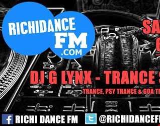 DJ G LYNX   Trance Sessions Sat Jul 23 210211 2016.www.richidanceFM.com