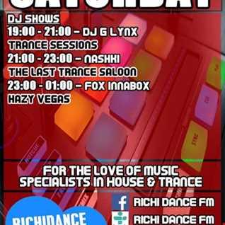 DJ G LYNX TRANCE SESSIONS 15.09.2018