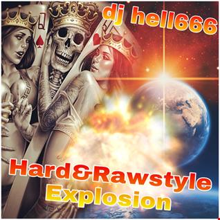 D.J.HELL666   HARD&RAWSTYLE EXPLOSION !!  17 03 2018