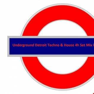 4h Vinyl Set Detroit Techno&House Classics&Rework